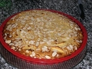 Tarta de manzana a la canela