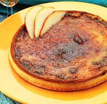 Receta de Tarta de manzana a la crema