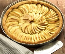 Tarta de manzana en Thermomix