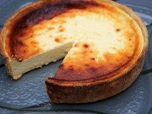 Tarta de queso blanco