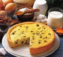 Receta de Tarta de queso con pasas de Corinto