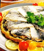 Tarta de sardinas