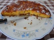 Receta de Tarta de zanahorias con albaricoques