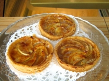 Receta de Tartaletas de manzana