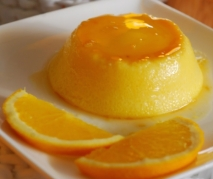 Receta de Tocinillo de cielo a la naranja