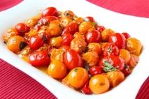 Tomates a las hierbas