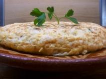 Tortilla de bacalao estilo sidrería