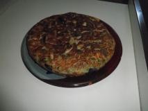 Tortilla de hortalizas varias