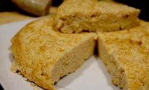 Tortilla de judías blancas
