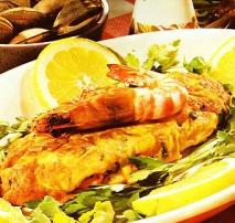 Tortilla de mariscos