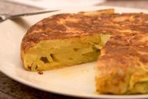 Tortilla de patatas al microondas
