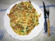 Tortilla de rúsula blanca