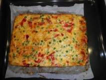 Tortilla paisana al horno
