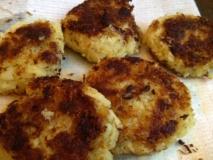 Tortitas de bacalao