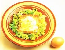 Receta de Tostadas con huevos