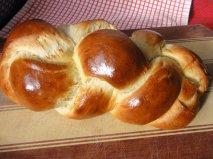 Receta de Trenza suiza de pan de leche en Thermomix
