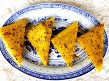 Triángulos de polenta