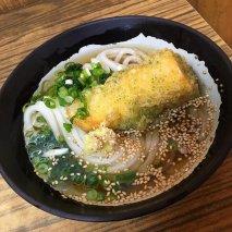 Udon (Sopa de verduras y marisco con fideos)