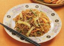 Receta de Yakisoba (Fideos japoneses fritos)