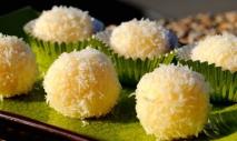 Receta de Yemas de coco