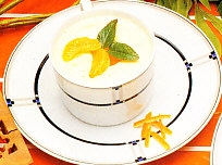 Yogur de mandarina