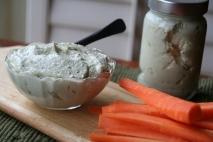 Zanahorias con salsa roquefort