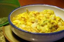 Zarangollo con huevos