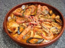 Receta de Zarzuela de pescados con mariscos