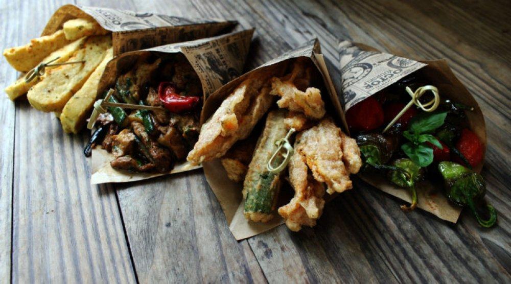 Recetas de street food